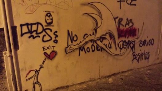 enter-exit street art