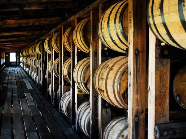 bourbon-barrels