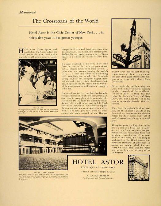 1939 Advertisement