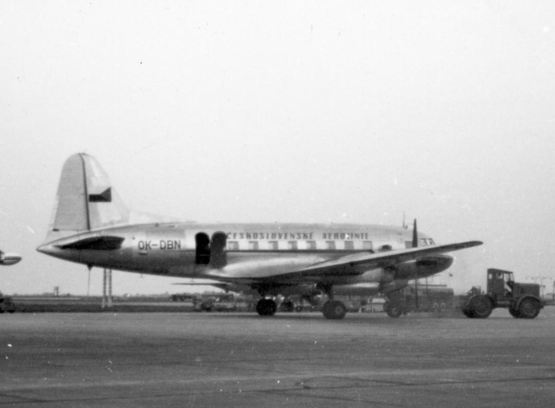 A Two-engined Ilyushin 12 Aircraft.