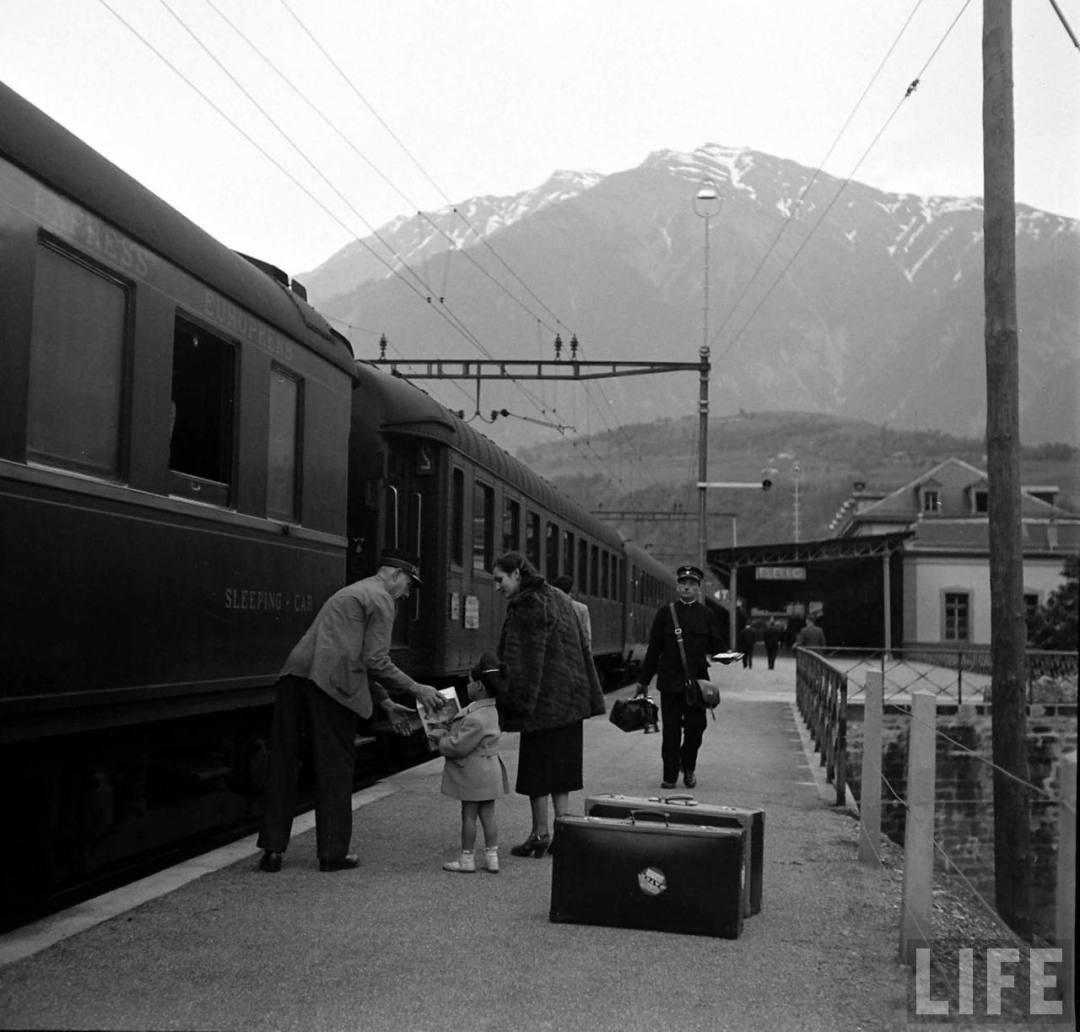 Brig Station, 1950.