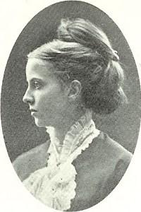 Anna Hjort f 1852 gift med Peter Mathias Flensburg