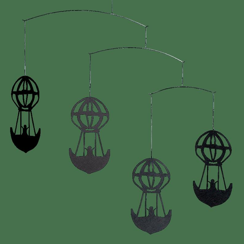 H.C.A. Balloons, black