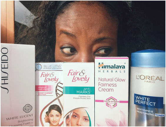 Skin Bleaching Spam from Sephora – PART ONE