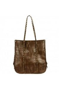 Handbag Heaven Jessie Studded Croc Tote