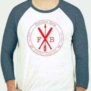 Fletcher Bats X Arrow raglan tee