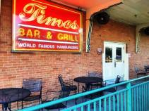 Times Grill exterior sign