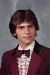Chris's High School picture