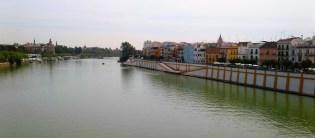View of Triana from bridge