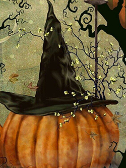 October 22: Witchy Pumpkin