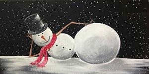 December 16: Snowman