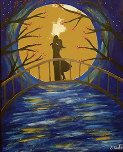 February 11: Moonlit Couple