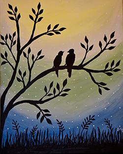 March 24: Lovebirds