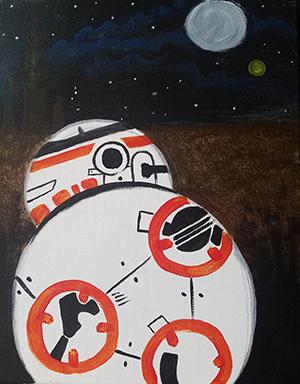 February 3: BB-8 (Children's Class)