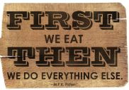 But first… let's eat, Mangia! :)