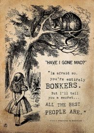 Alice in Wonderland bit of wisdom
