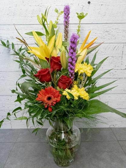 Bouquet Journée de la femme - 04 - Fleuriste Coin Vert   Montréal