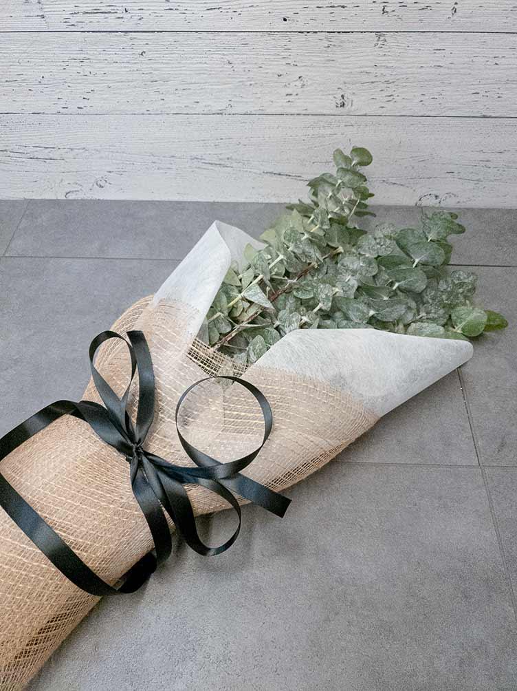 Bouquet d'eucalyptus - Fleuriste Coin Vert | Montréal