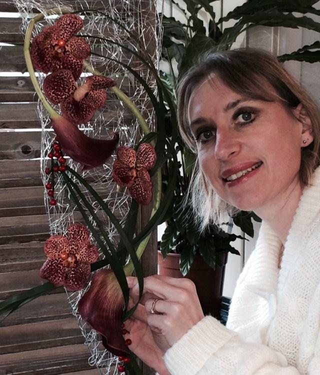 Séverine Artisan fleuriste pour Etamine à Montayral