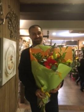 Julien gagnant du jeu Youpi Fleurs, tirage du mercredi 23 novembre 2016