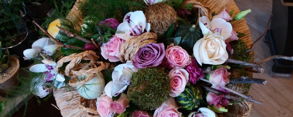 bouquet de fleurs par Les Jardins Du Cerou artisan fleuriste à Cordes sur Ciel-81170