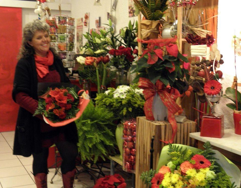 """Votre artisan fleuriste à Gap (05000), Françoise pour """"Fol'Armonie"""""""