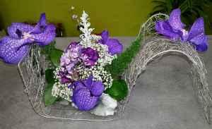 composition par l'écrin floral artisan fleuriste à Florensac