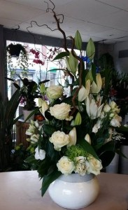 Composition par LES FLEURS D ARMENTIERES fleuriste à Armentières-59280
