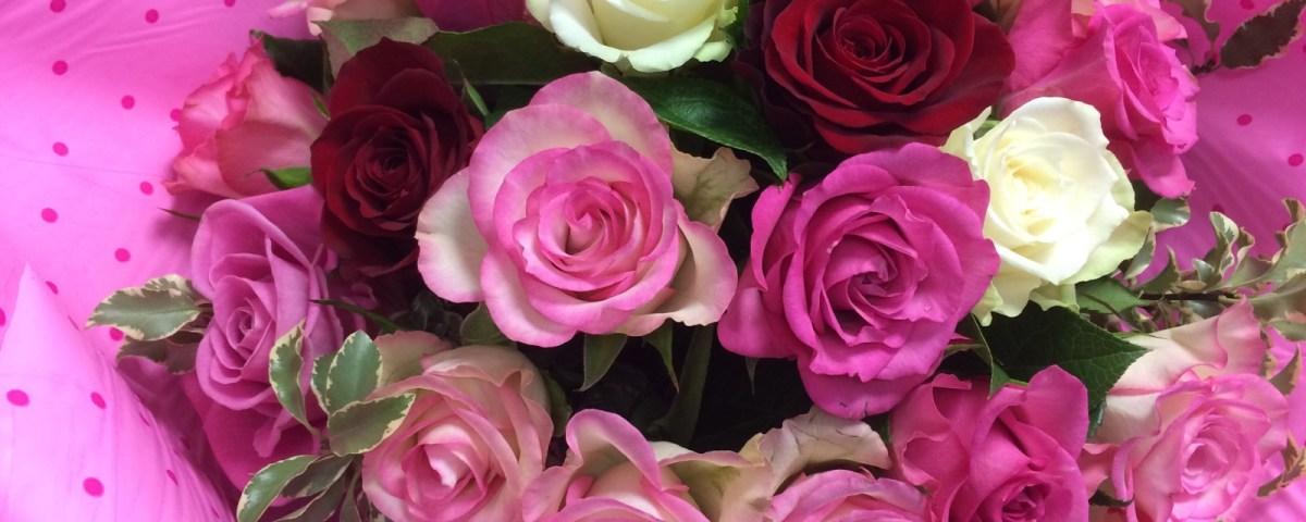 Bouquet par Laetitia pour L'atelier Floral fleuriste à Illiers Combray-28120