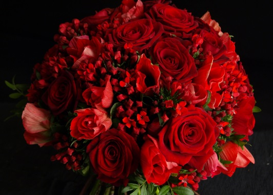 Bouquet par Sandra Flor artisan fleuriste à Plouzané-29280