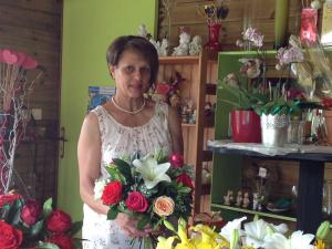 Celine pour Au Bonheur Des Fleurs fleuriste à LA PLAINE DES PALMISTES