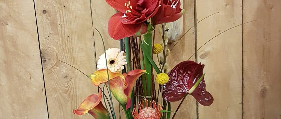 Mylene et Patrick KOKINOPOULOS pour Art et Nature fleuriste à Eguilles-13510