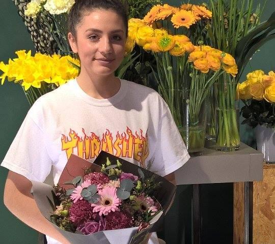 Lisa, gagnante du jeu Youpi Fleurs, tirage du mercredi 15 février 2017
