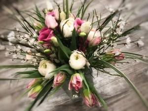 bouquet de fleurs par Le jardin de Camille fleuriste à Dieppe-76200