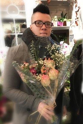 Liliane, gagnante du jeu Youpi Fleurs, tirage du mercredi 7 décembre 2016
