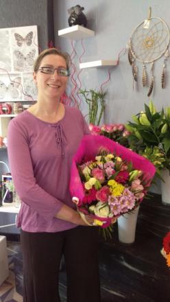 Pascaline, gagnant du jeu Youpi Fleurs, tirage du mercredi 10 mai 2017