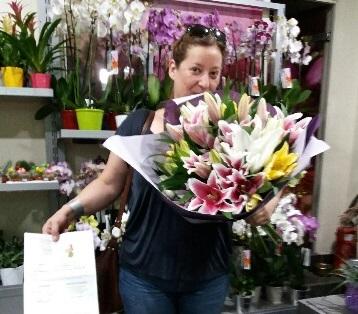 Isabelle, gagnant du jeu Youpi Fleurs