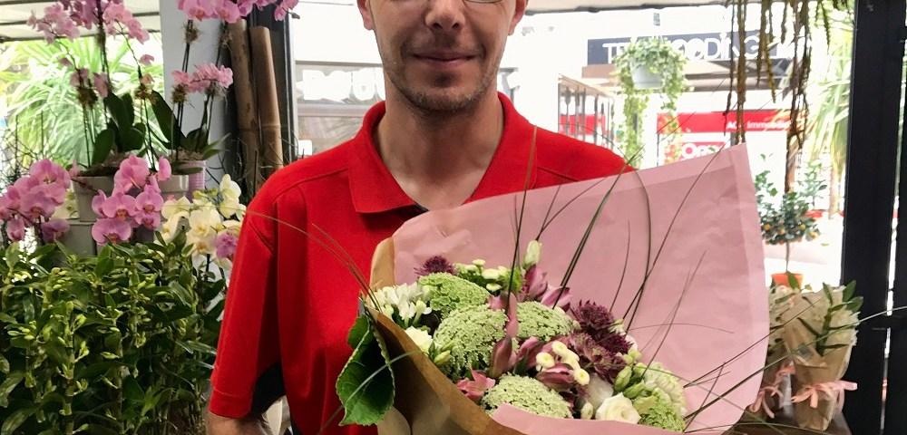 Julien, gagnant du jeu Youpi Fleurs