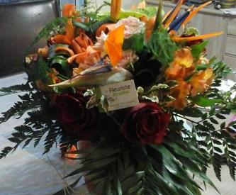 Bouquet de fleurs réalisé par Audrey, artisan fleuriste à Bannalec (29380)