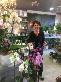 """Votre artisan fleuriste à Valdahon (25800), Karine pour """"La Feuille D'Acanthe"""""""