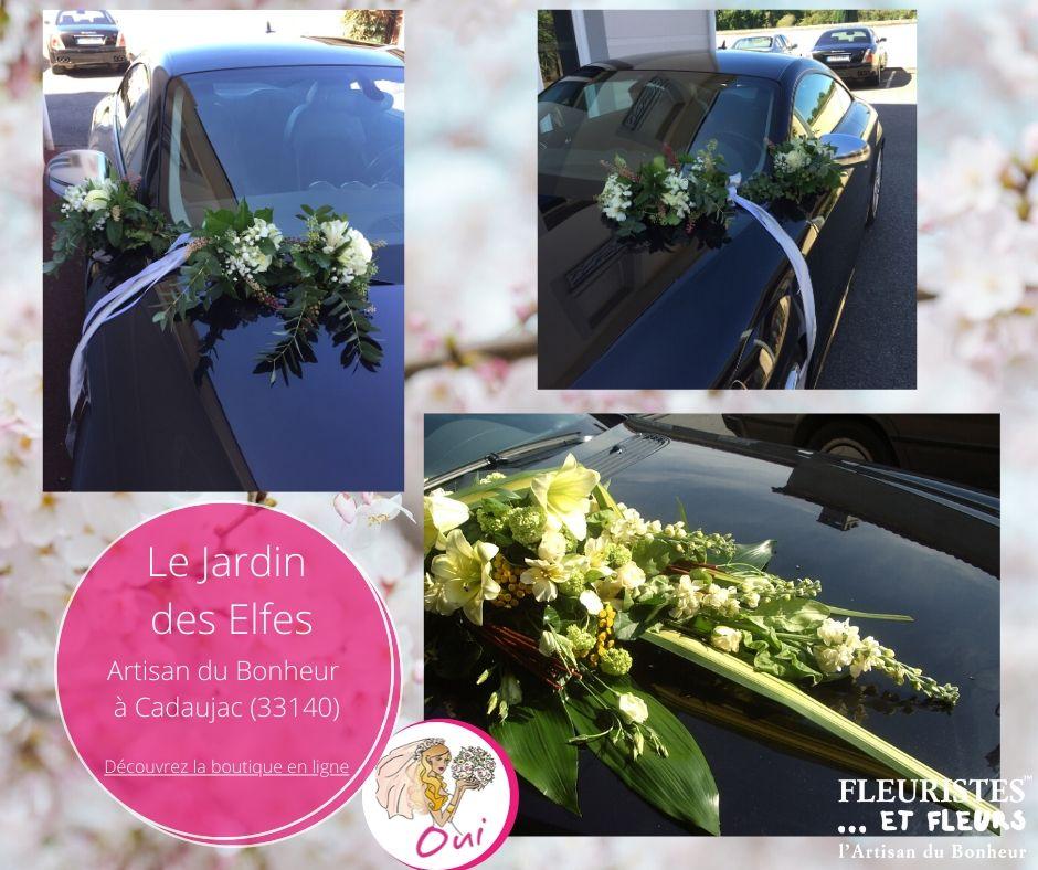 voiture mariage cadaujac