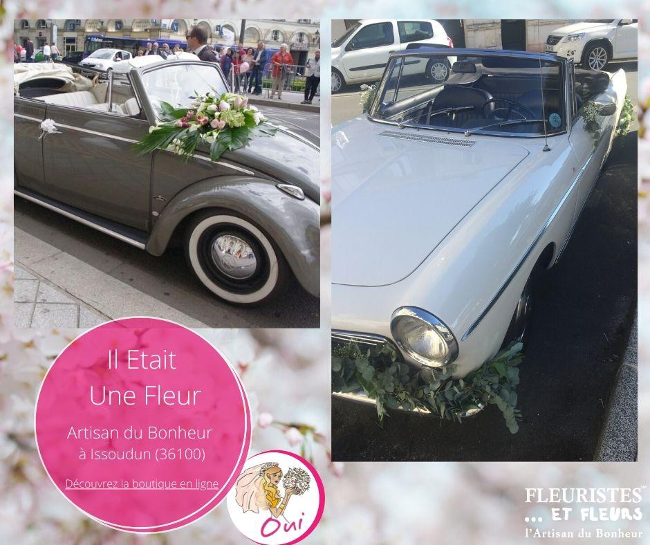 voiture mariage issoudun