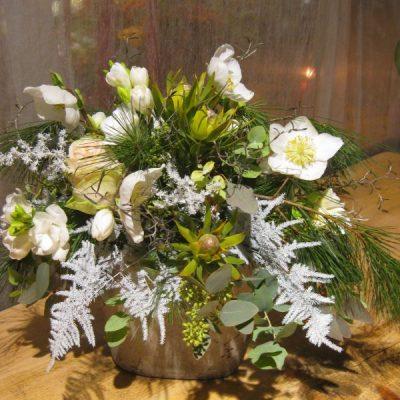 b.cornut fleurist - Féerie blanche