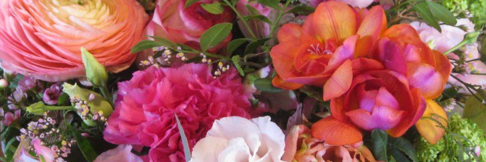 Un bouquet tout en rose