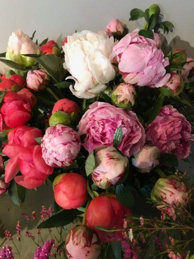 B.Cornut Fleuriste Pivoines et Verdure