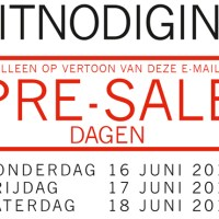 Steps Pre-Sale dagen (do 16 t/m zat 18 juni)