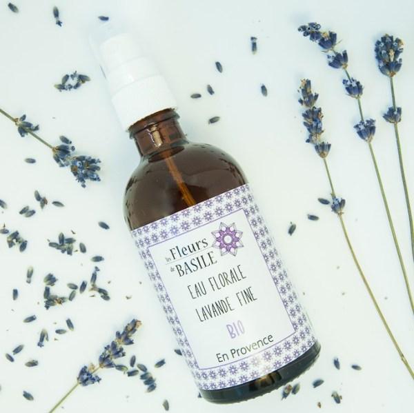 Eau florale Lavance fine, Provence, Fleurs de Basile