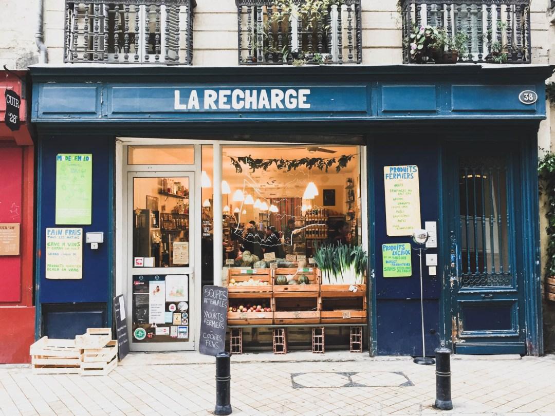 La recharge, Bordeaux