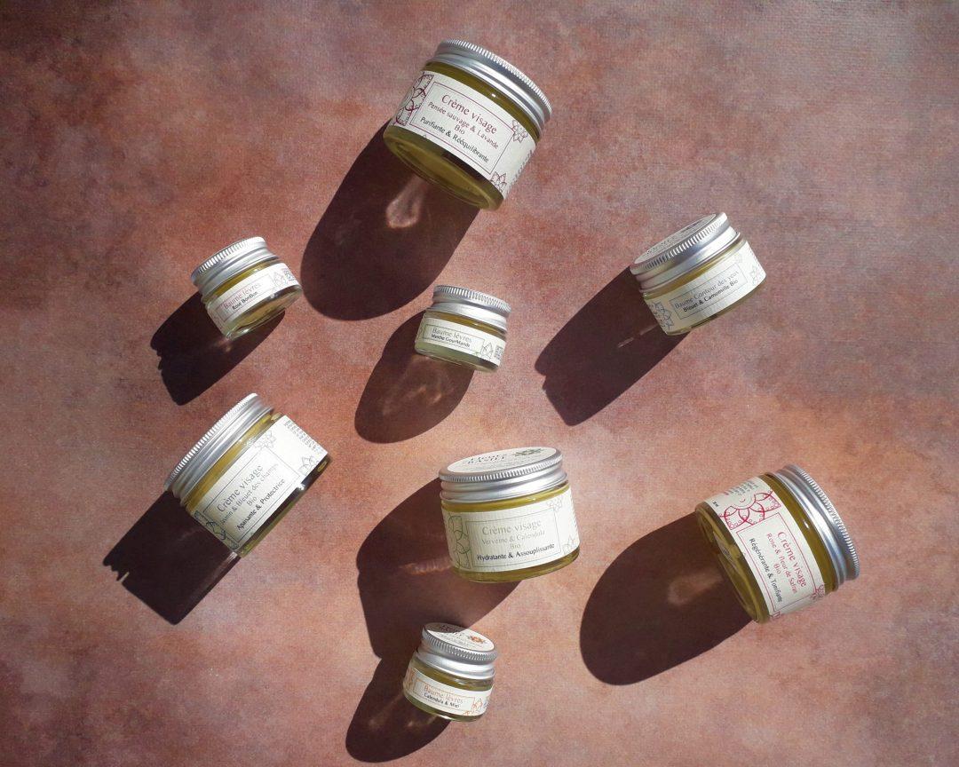 Gamme Crèmes BIO Fleurs de Basile