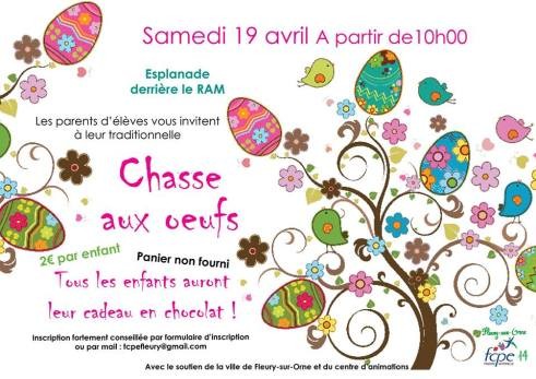 Chasse aux oeufs 2014